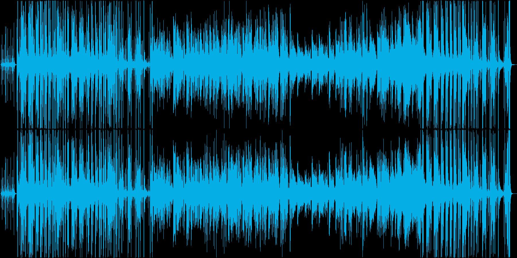 トロンボーンのジャズスタジオ。ブルース。の再生済みの波形