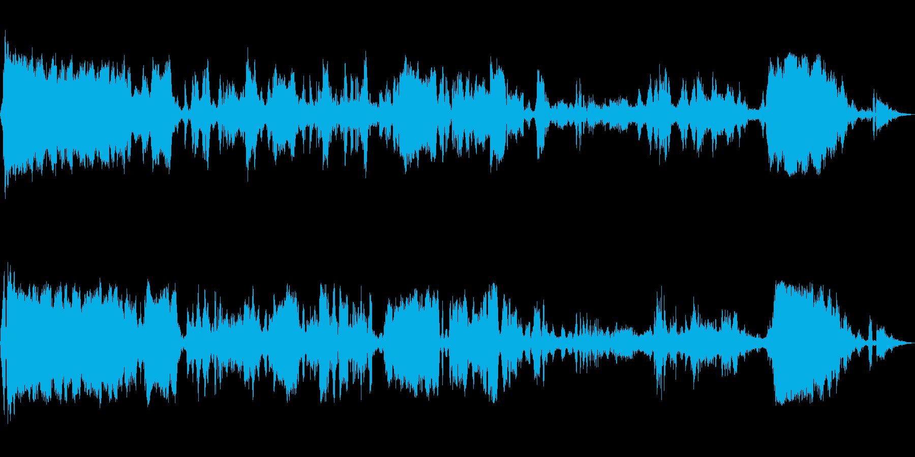 重い静的スパーク、変動バーストの再生済みの波形