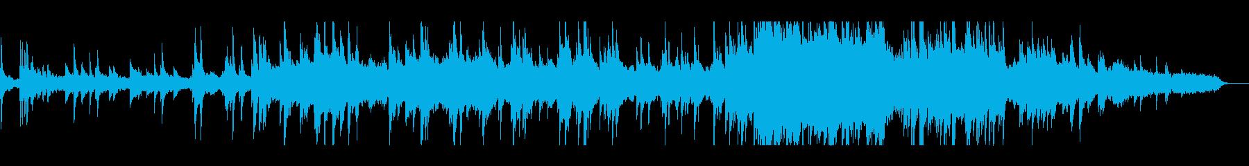 こみ上げる想い~温かく切ないピアノ弦楽曲の再生済みの波形