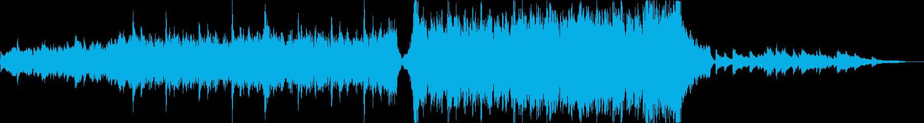 ハリウッド映画のトレーラー風エピック の再生済みの波形