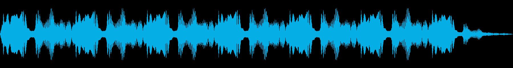 サイレン警察ダブルの再生済みの波形