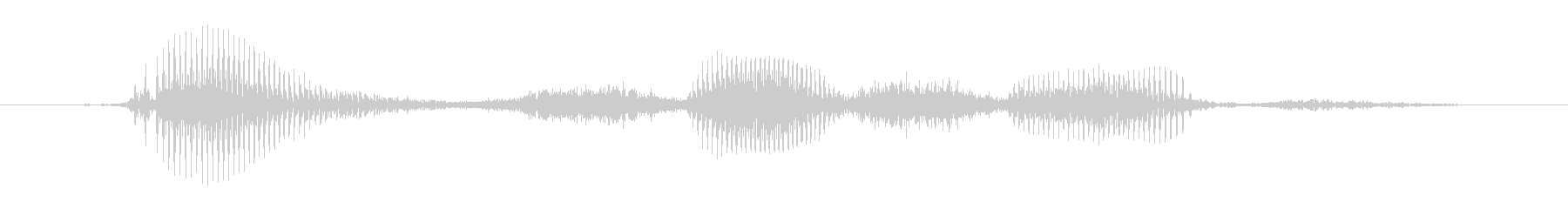 Oh yeah (female)'s unreproduced waveform