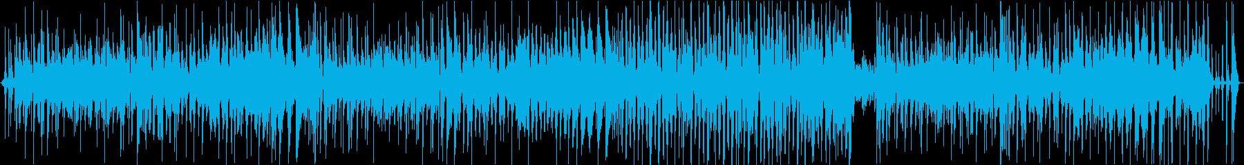ラテン ジャズ ポップ ロック バ...の再生済みの波形