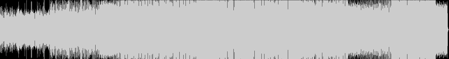 軽快なドラムンベースの未再生の波形