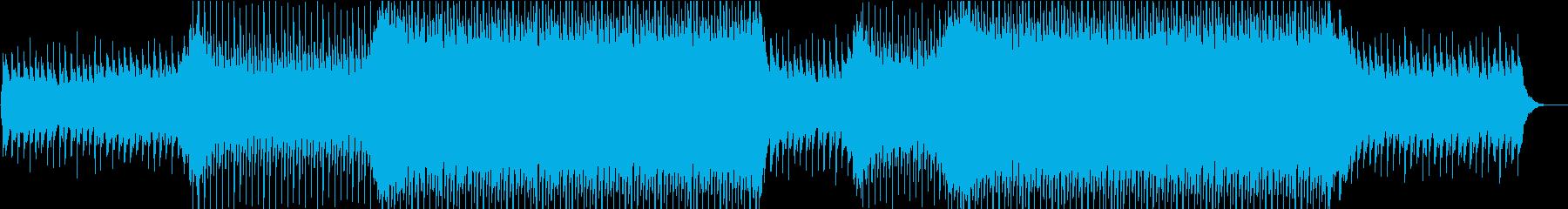企業VPや映像/爽やか/明るい/ピアノの再生済みの波形