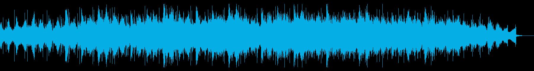 不安定なテクスチャのドローンの再生済みの波形