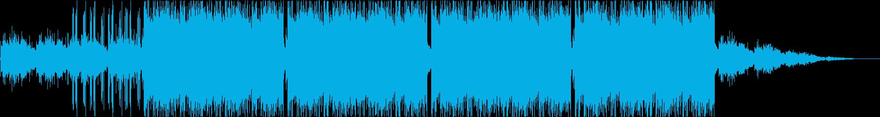 チルアウト、ヒップホップ、背景の再生済みの波形