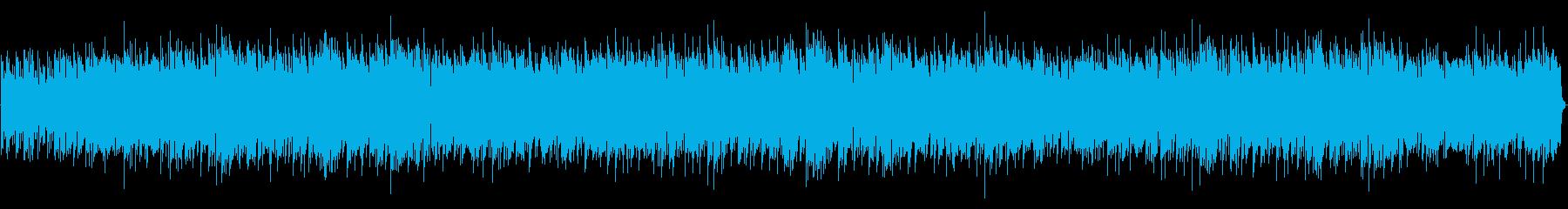 ほのぼのBGMの再生済みの波形
