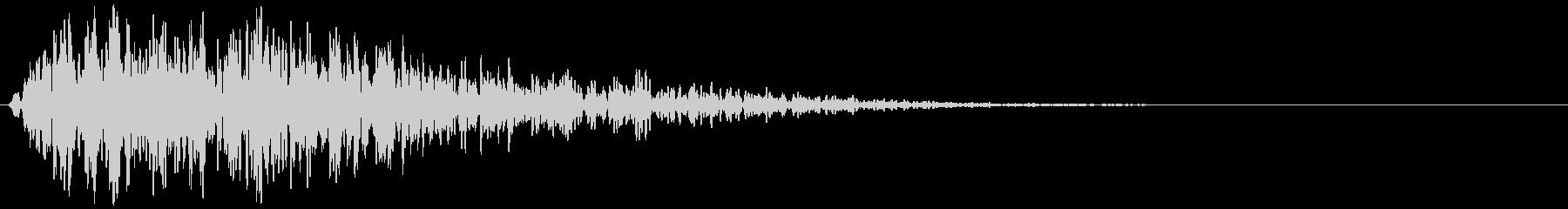 ロボット系効果音の未再生の波形