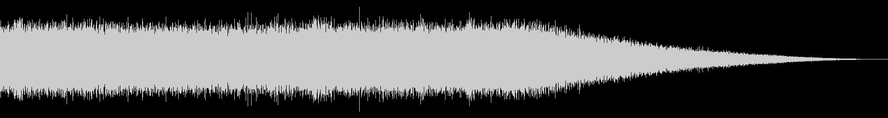 戦車の走行音/キャタピラの効果音 08の未再生の波形