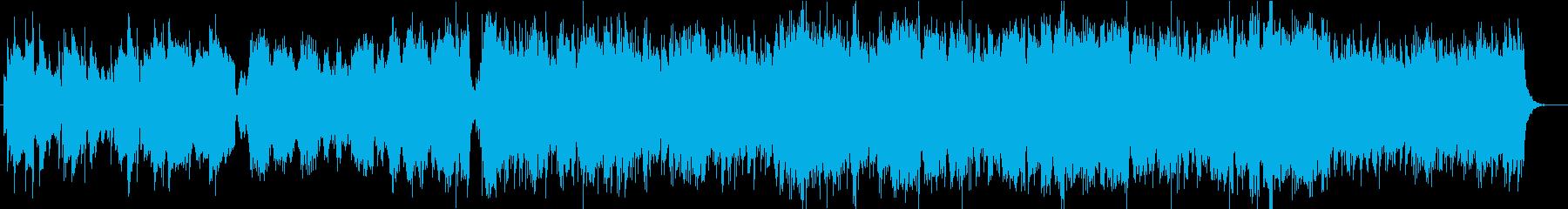 美しいフルート感動壮大オーケストラBGMの再生済みの波形