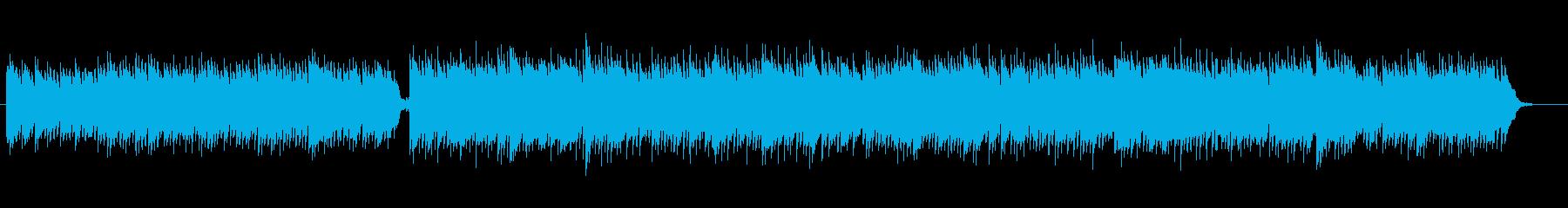 ニュースや日常に/ピアノメインのBGMの再生済みの波形