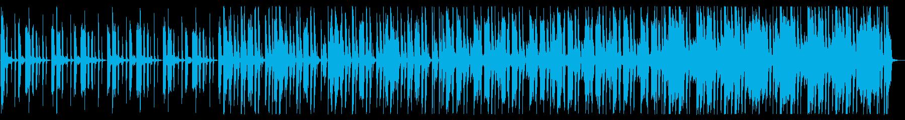 不思議/シンプル/R&B_No469_2の再生済みの波形
