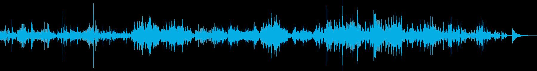 輝く星々(ピアノ、キラキラ、優しい)の再生済みの波形