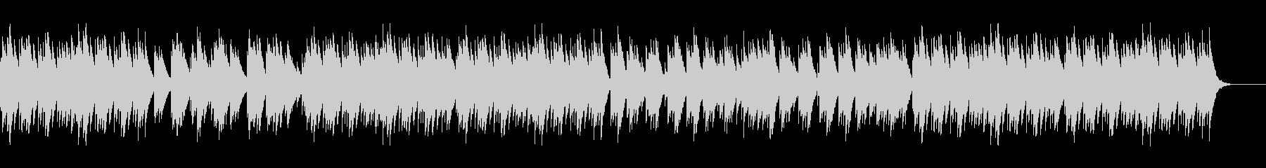 切ない旋律が印象的なオルゴールの未再生の波形