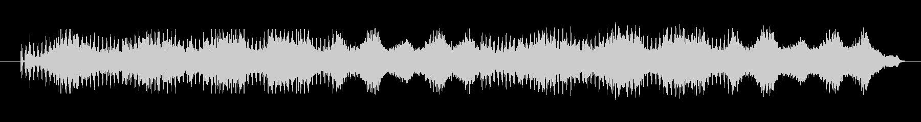 響きにインパクトあって独特なメロディーの未再生の波形