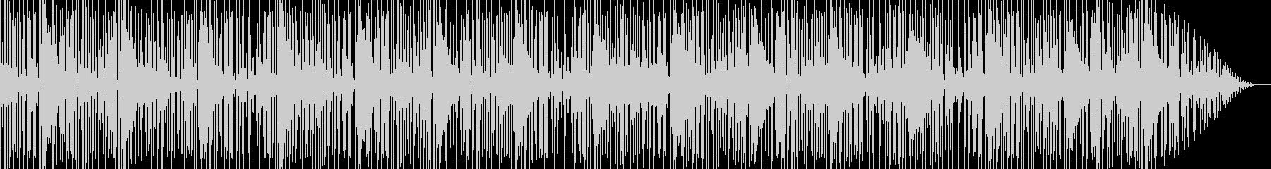 ゾクゾクするようなスリルを感じるBGMの未再生の波形