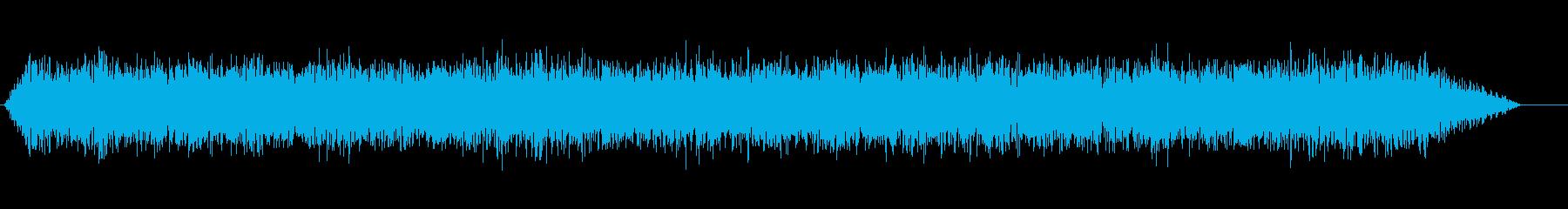 ドローンの再生済みの波形
