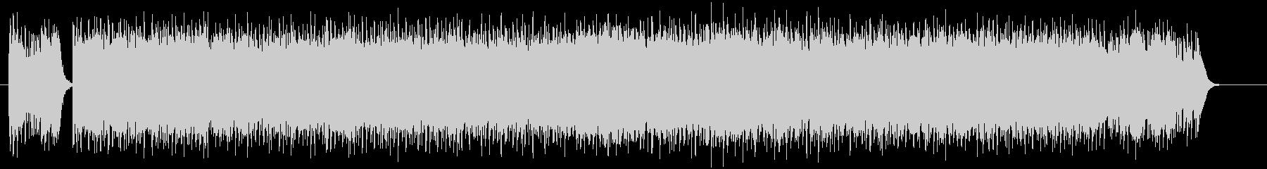 ドキドキ感とシリアスなシンセギターテクノの未再生の波形