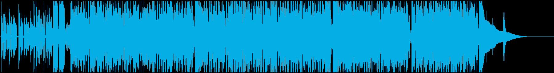 穏やかで遊び心あるアコースティック曲の再生済みの波形