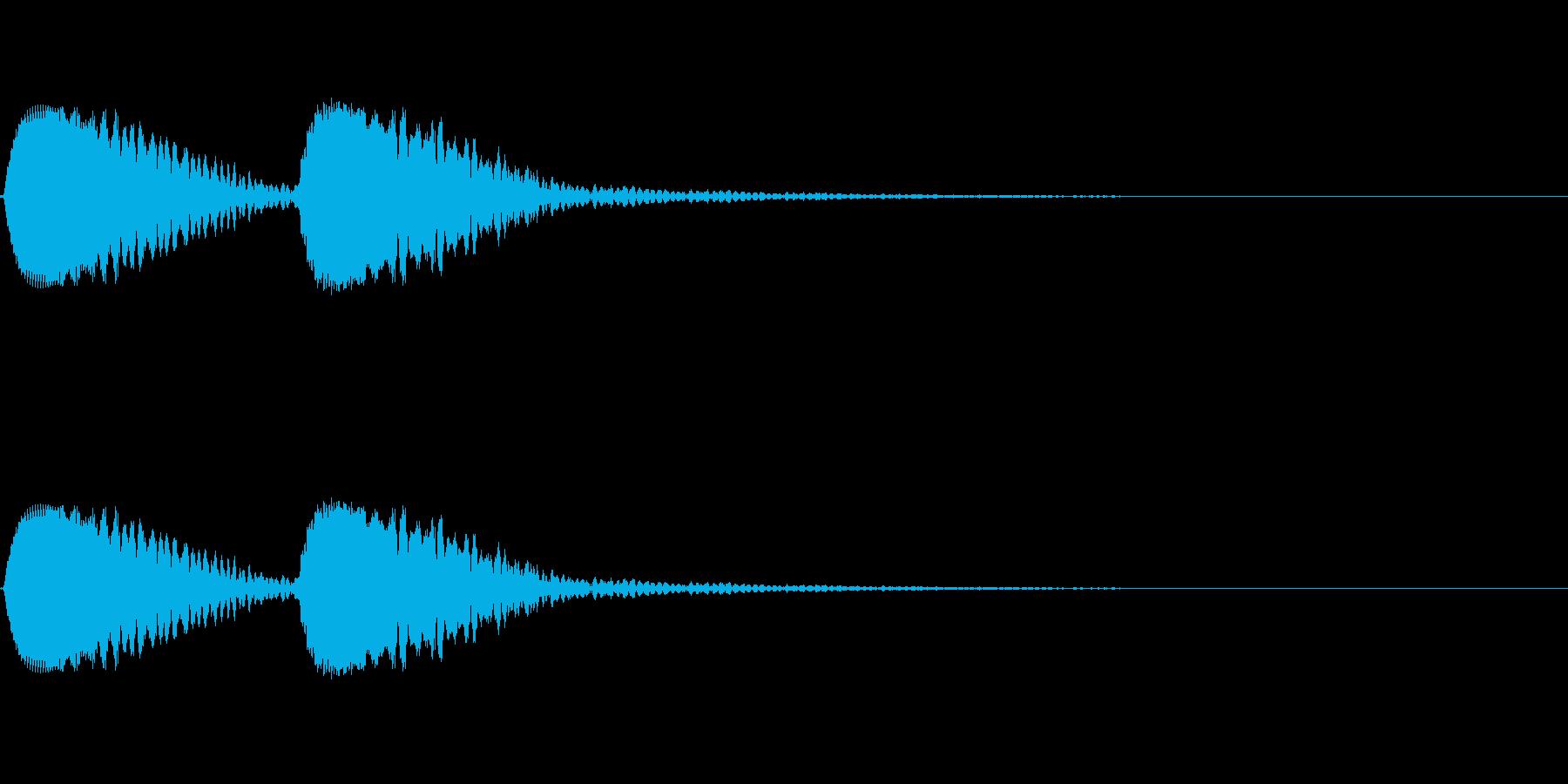 つっつく/あるく/動作/コミカル/見渡すの再生済みの波形