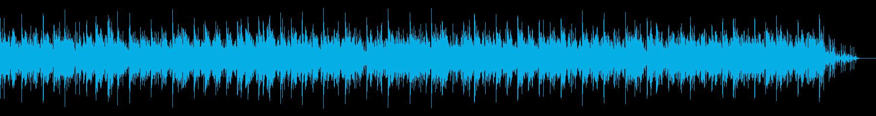 ミディアムテンポのチル系ピアノの再生済みの波形
