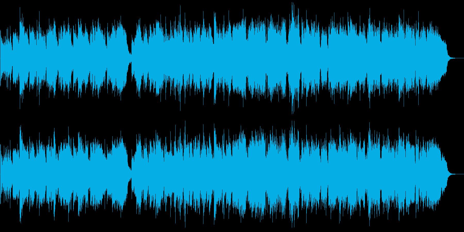 篠笛生演奏の和風バラード ゆったりと壮大の再生済みの波形