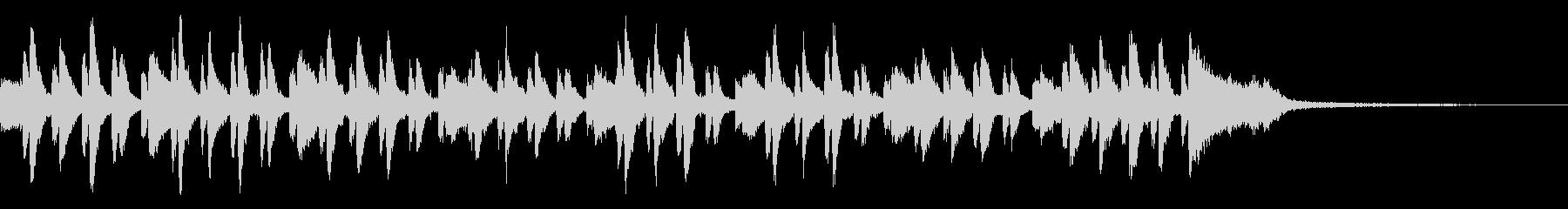 ピアノコンチェルト風~緊迫したBGM~の未再生の波形