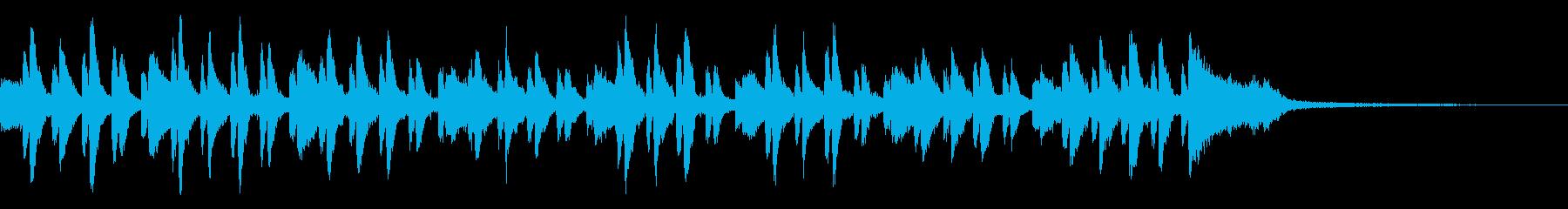 ピアノコンチェルト風~緊迫したBGM~の再生済みの波形