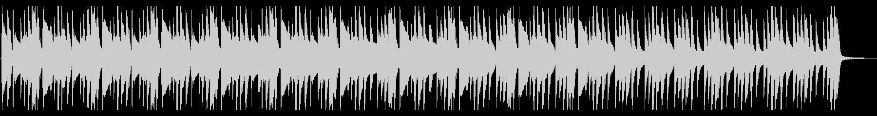 何かを考えているときに流れるBGMの未再生の波形