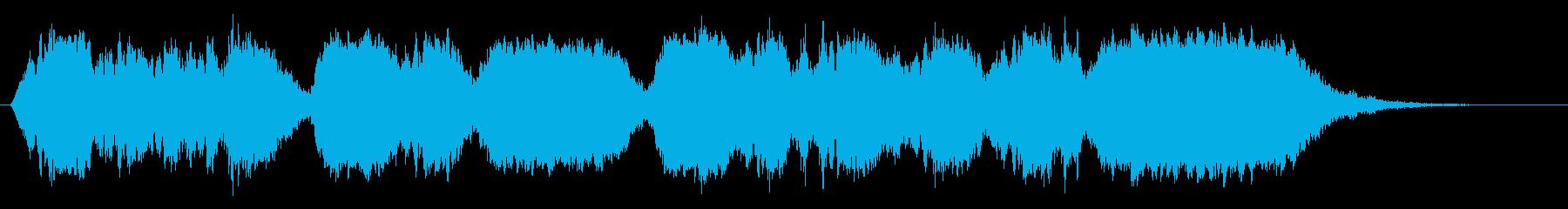 ビオラによる夢想の再生済みの波形