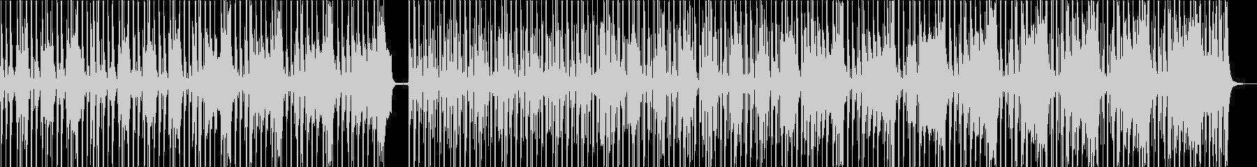 バリバリの典型的ファンクの未再生の波形