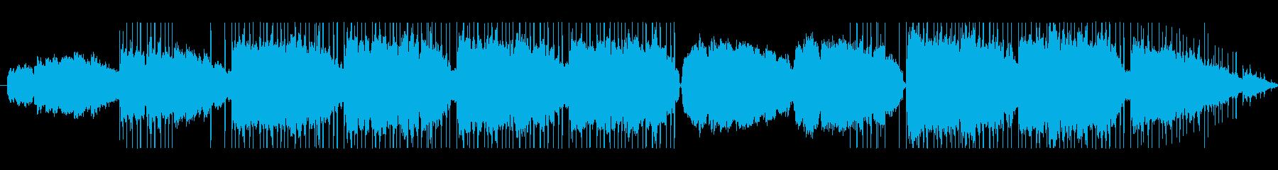 Lofi Hiphop 勉強用 朝の再生済みの波形