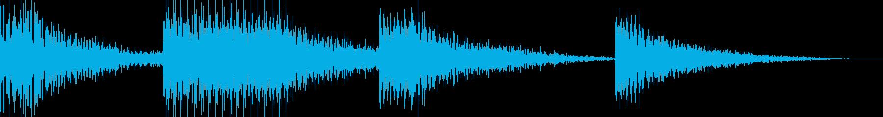 ヘビーマシンブレークダウンロングの再生済みの波形