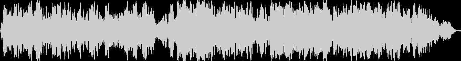感動的な弦楽四重奏/高級感の演出にの未再生の波形