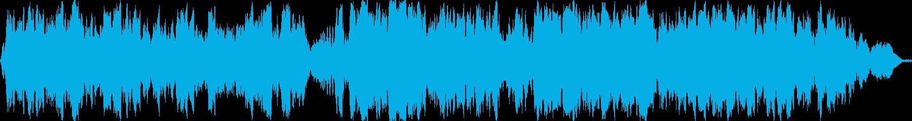 感動的な弦楽四重奏/高級感の演出にの再生済みの波形