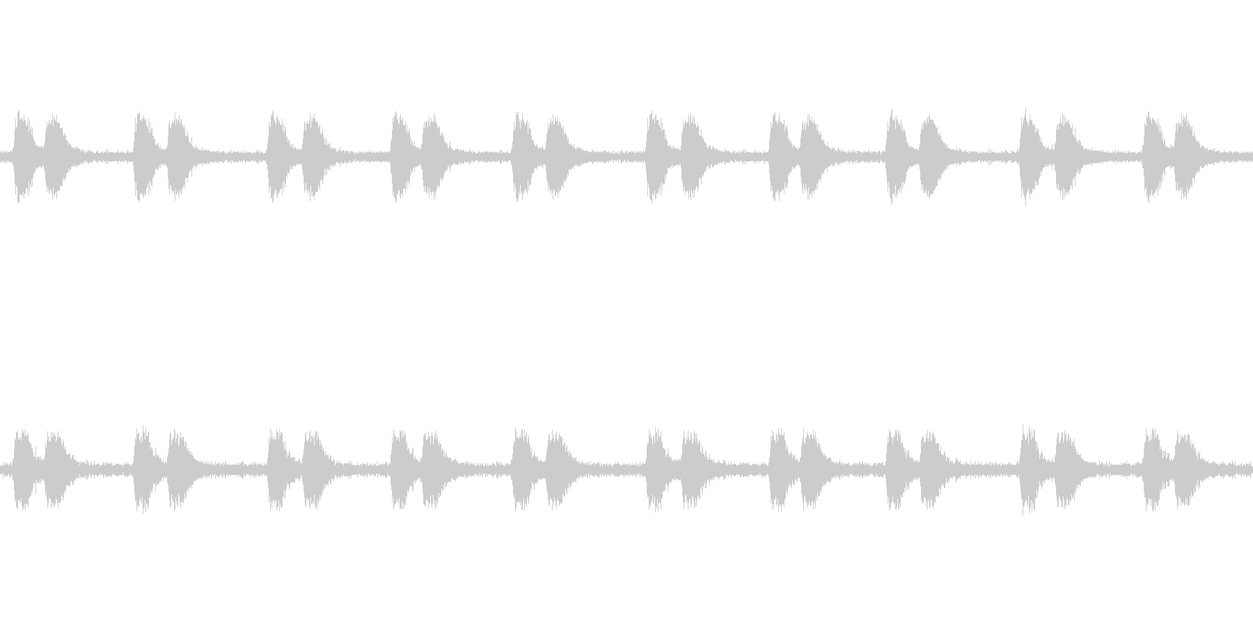 【カラス 生録 環境01-4】の未再生の波形