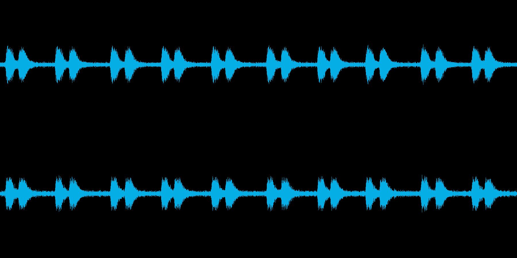 【カラス 生録 環境01-4】の再生済みの波形