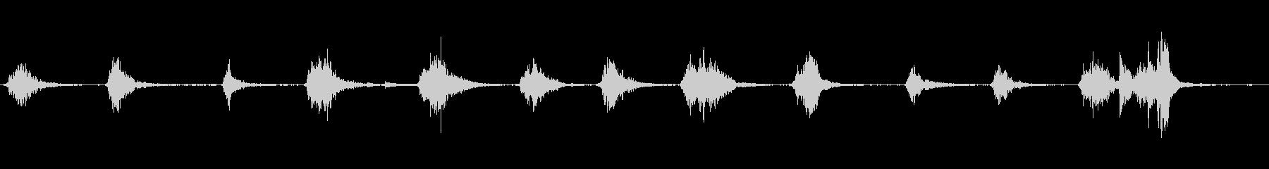 メタルシップハッチ:さまざまなリン...の未再生の波形