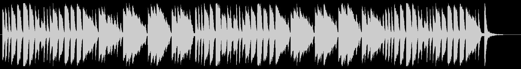 森のくまさん ピアノver.の未再生の波形