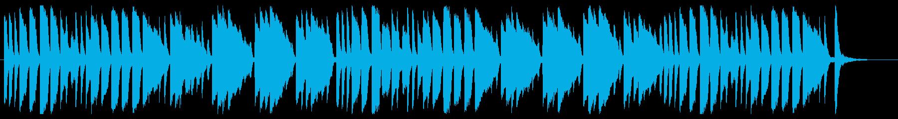 森のくまさん ピアノver.の再生済みの波形