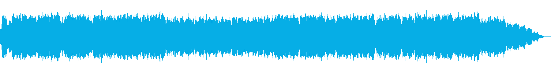 優しい竹笛のヒーリング音楽の再生済みの波形