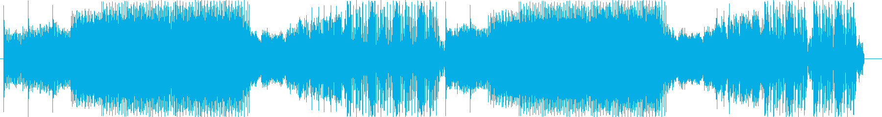 スリリングなダブステップの再生済みの波形