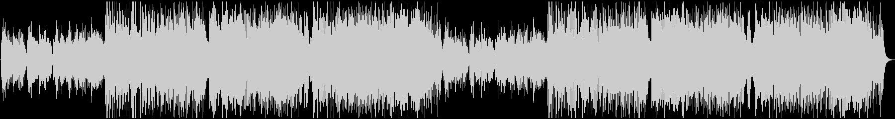 ほのぼのとしたケルト曲の未再生の波形