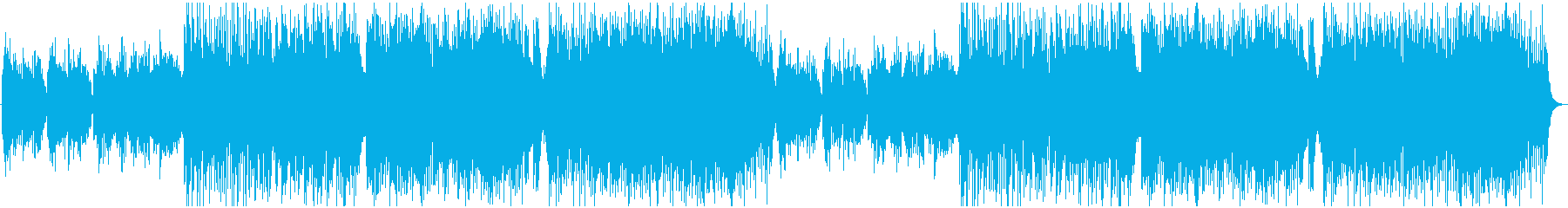 ほのぼのとしたケルト曲の再生済みの波形