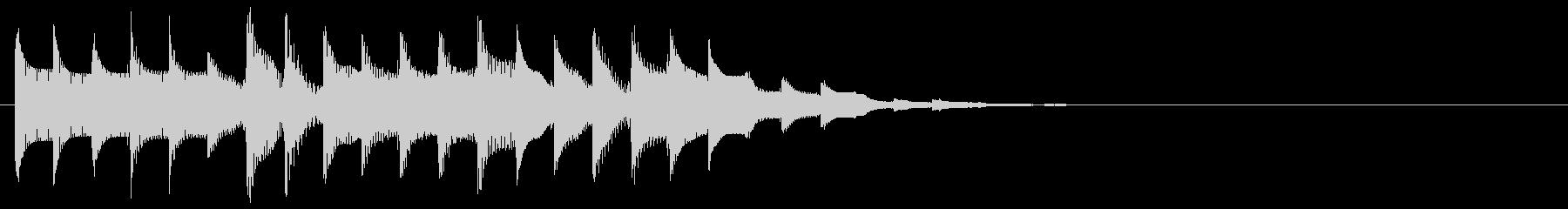 ズクジャンジャン… 低(トピック、題目)の未再生の波形