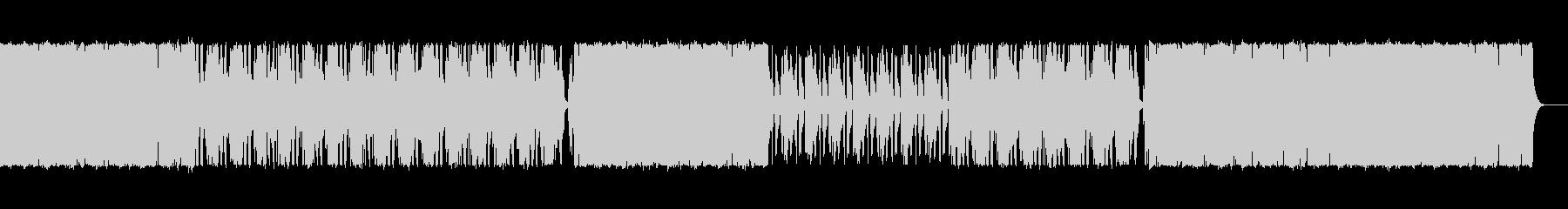 ビートとストリングスが印象的な曲の未再生の波形