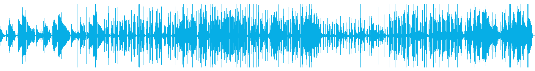 晴れの日に聞きたいファンキーギターチューの再生済みの波形