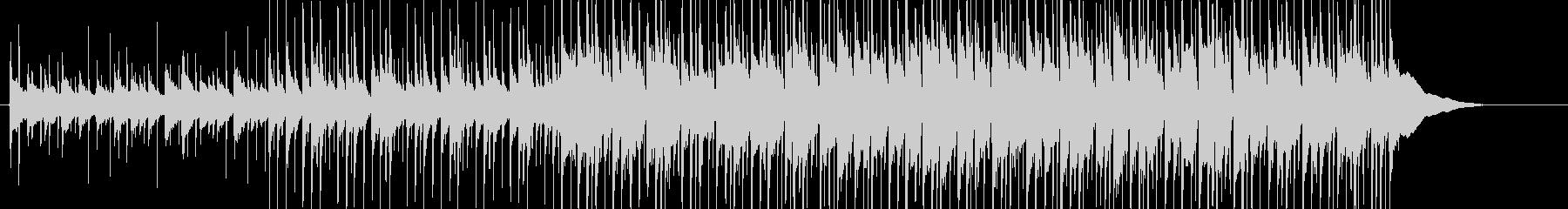 三線を用いたのんびり沖縄風ポップの未再生の波形