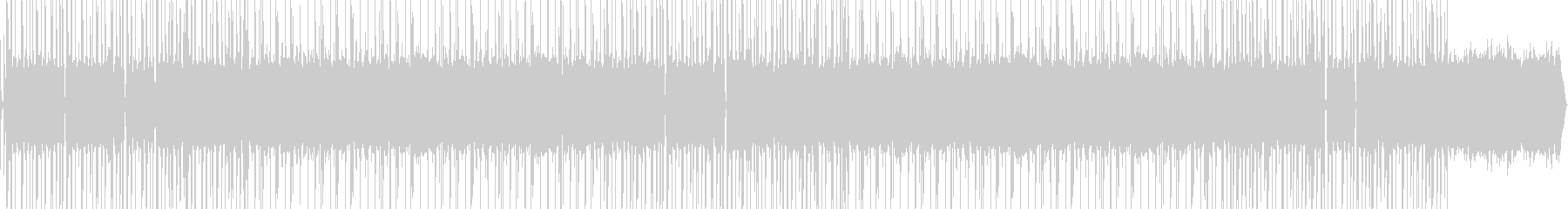オールドスタイルのヒップホップビートの未再生の波形